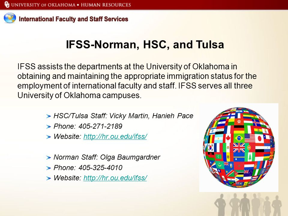 IFSS-Norman, HSC, and Tulsa