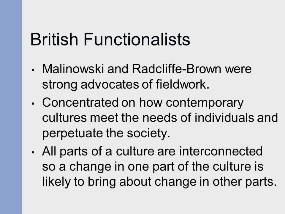 British Functionalists