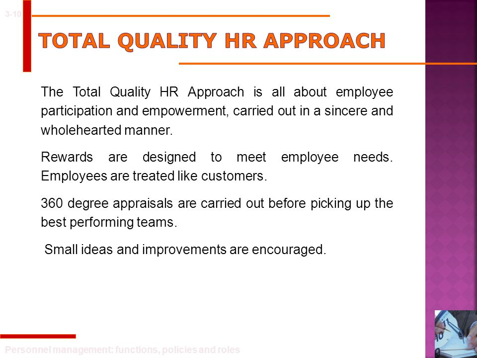 Total Quality HR Approach