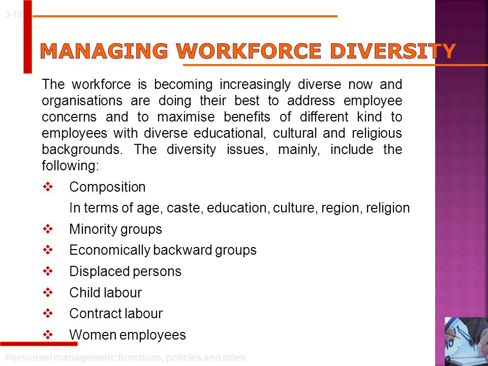 MANAGING WORKFORCE DIVERSITY
