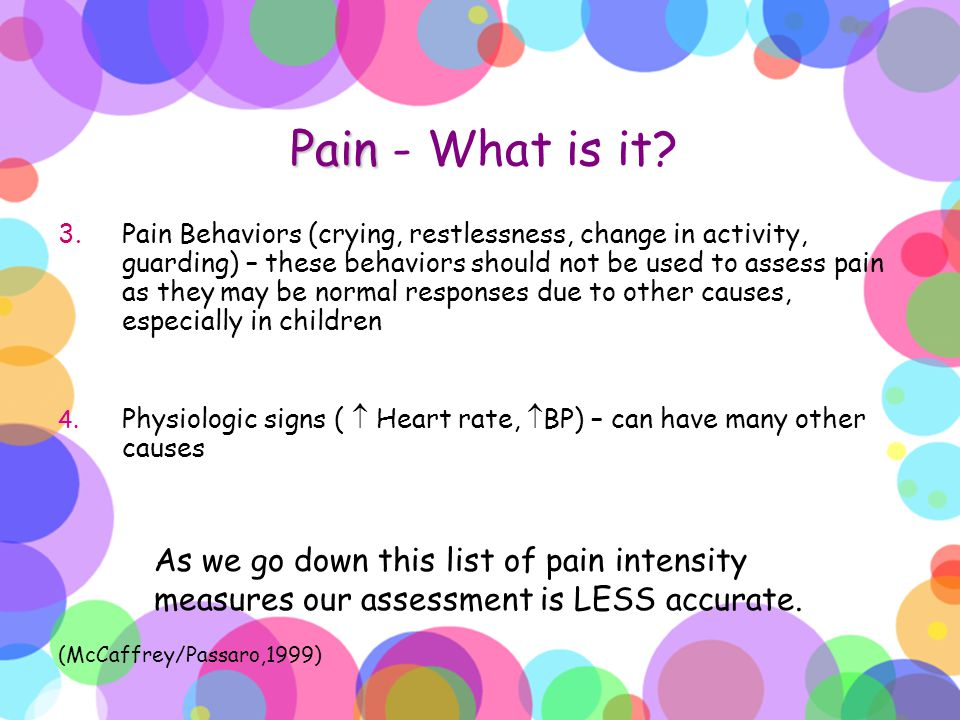 Pain - What is it
