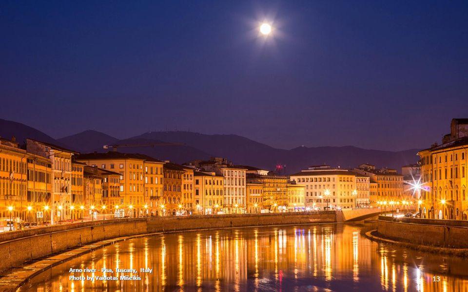 Arno river - Pisa, Tuscany, Italy