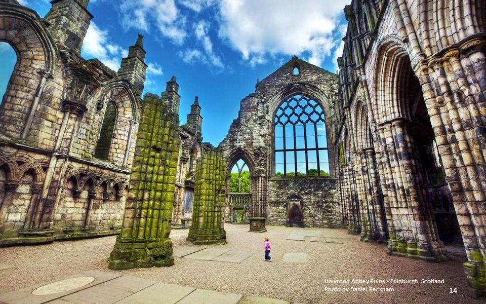 Holyrood Abbey Ruins - Edinburgh, Scotland