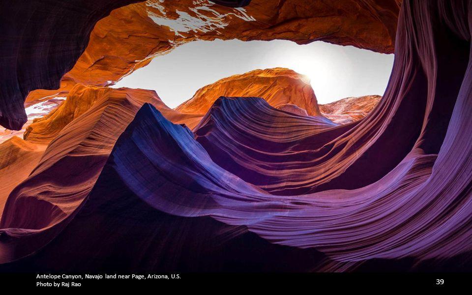 Antelope Canyon, Navajo land near Page, Arizona, U.S.