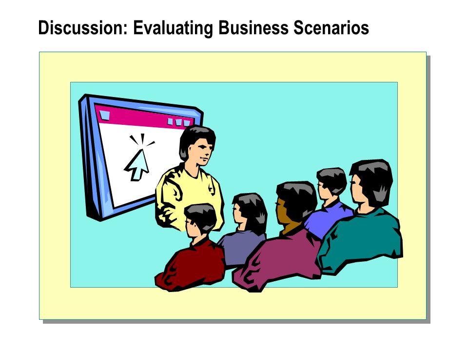 Discussion: Evaluating Business Scenarios