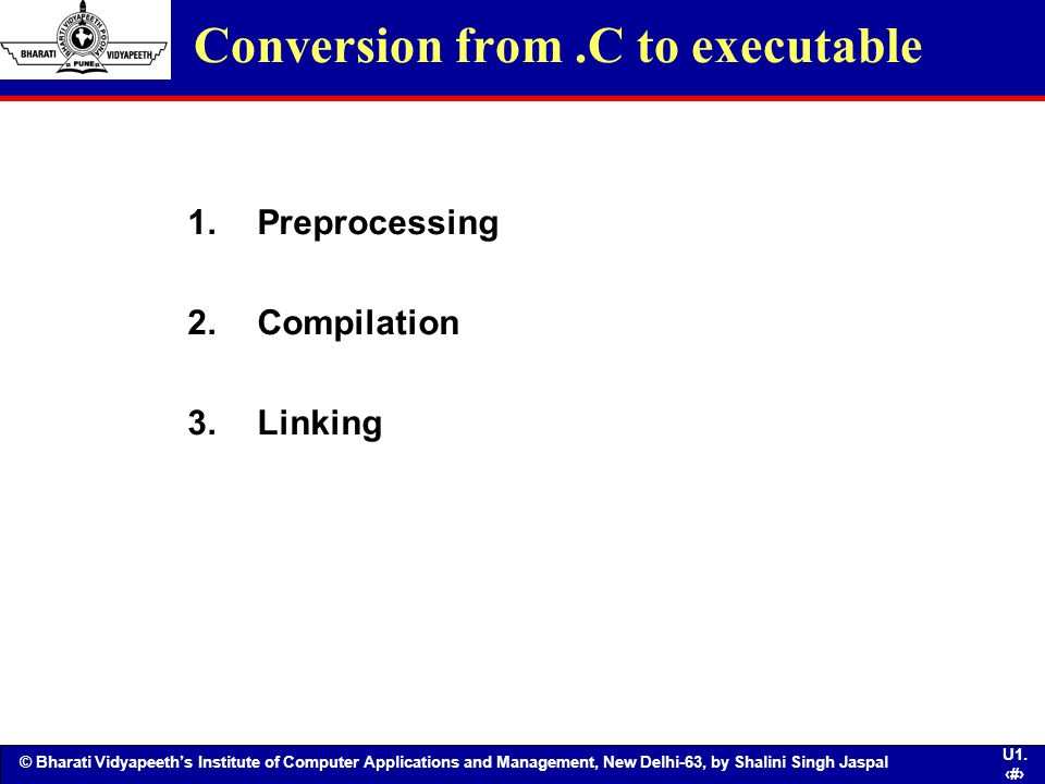 Conversion from .C to executable