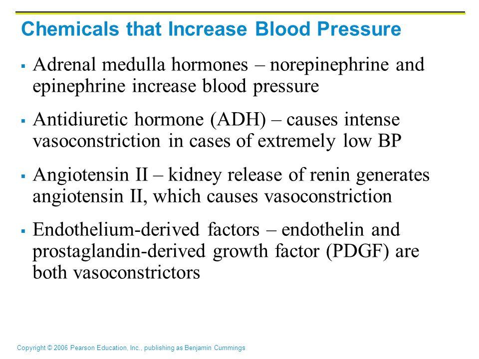 Chemicals that Increase Blood Pressure