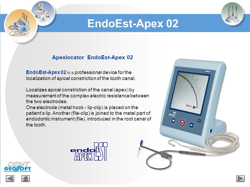 Apexlocator EndoEst-Apex 02