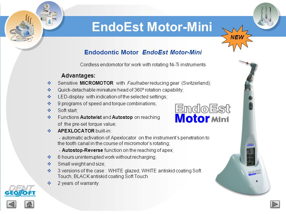 Endodontic Motor EndoEst Motor-Mini