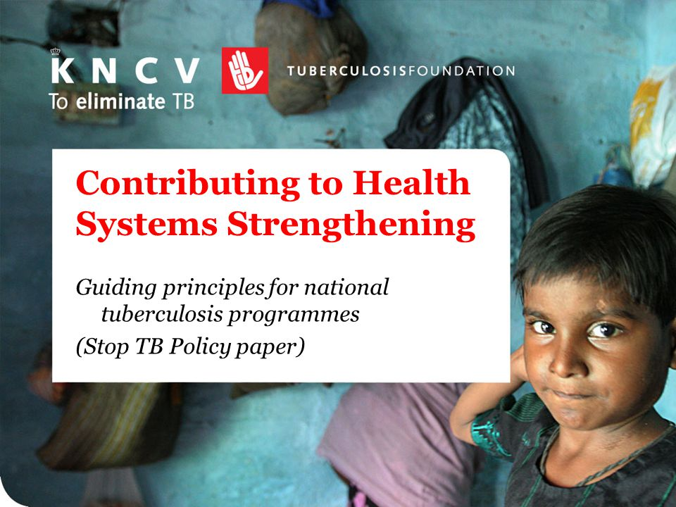 Contributing to Health Systems Strengthening