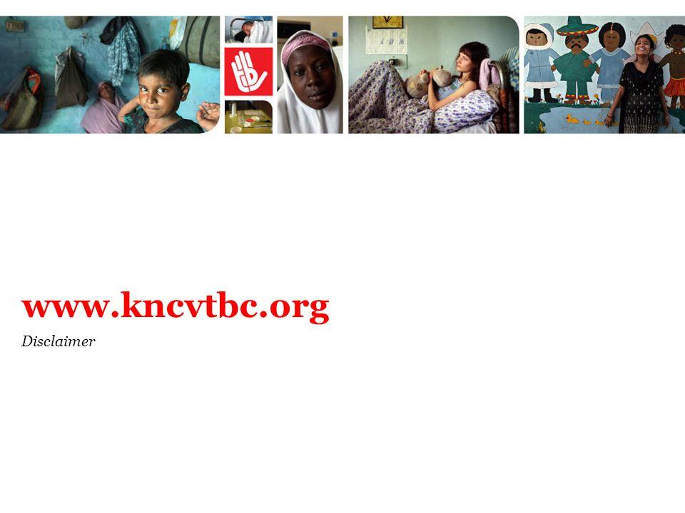 www.kncvtbc.org Disclaimer
