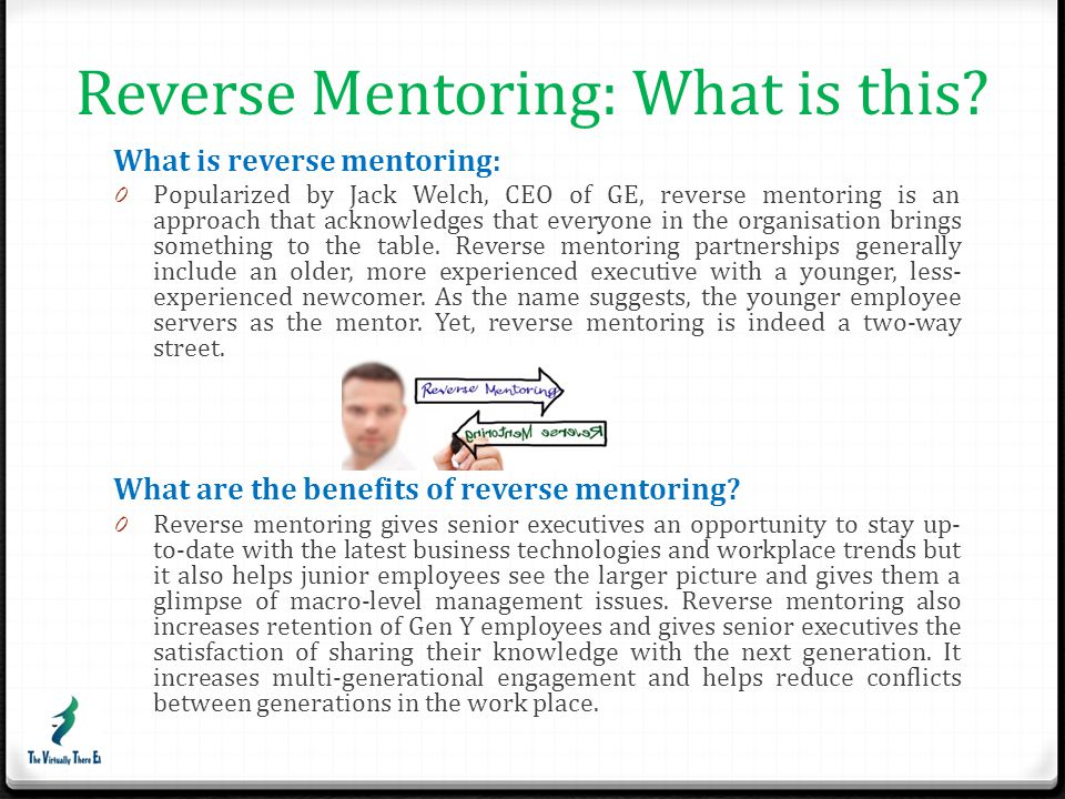 Reverse Mentoring: What is this