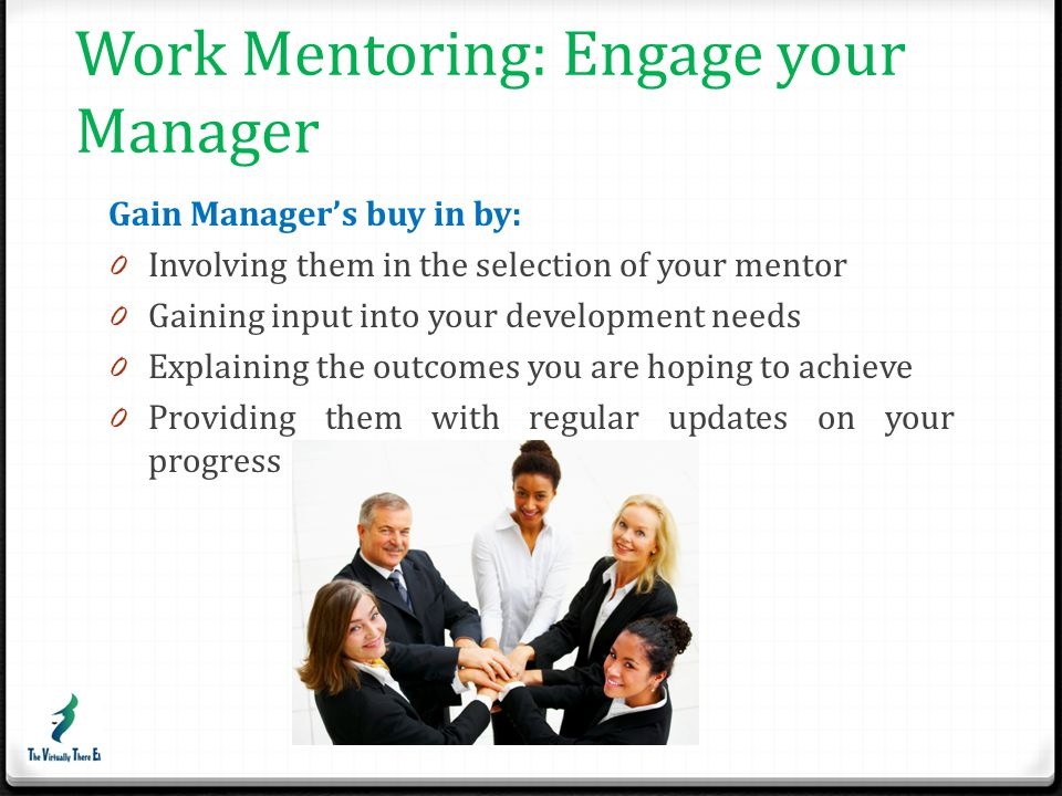 Work Mentoring: Engage your Manager