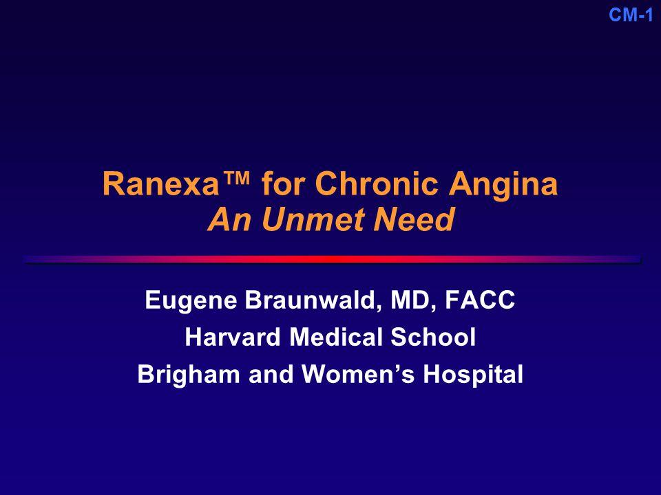 Ranexa™ for Chronic Angina An Unmet Need