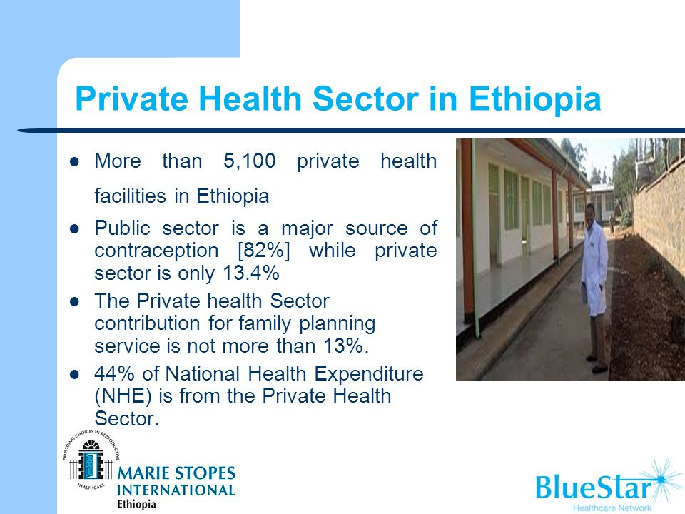 Private Health Sector in Ethiopia