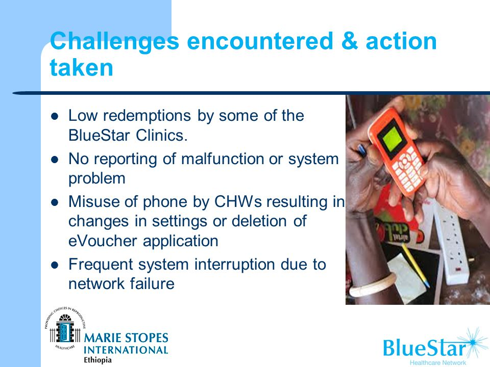 Challenges encountered & action taken