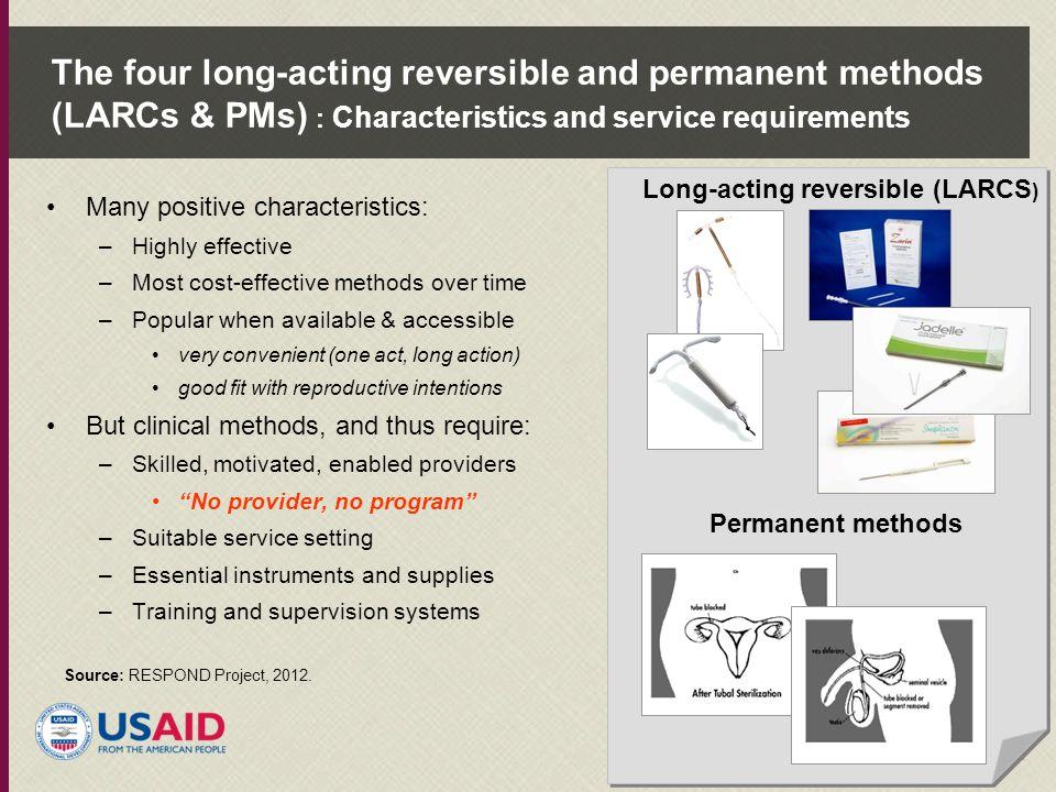 Long-acting reversible (LARCS)