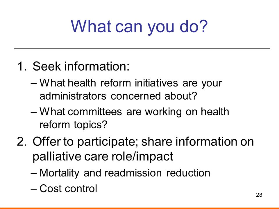 What can you do Seek information: