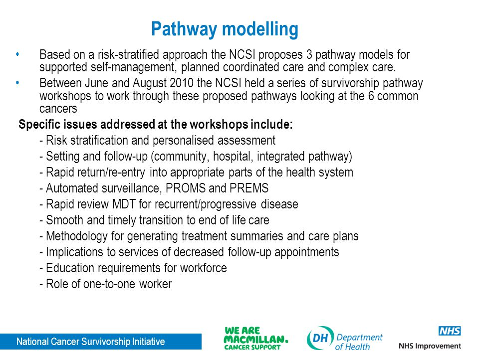Pathway modelling