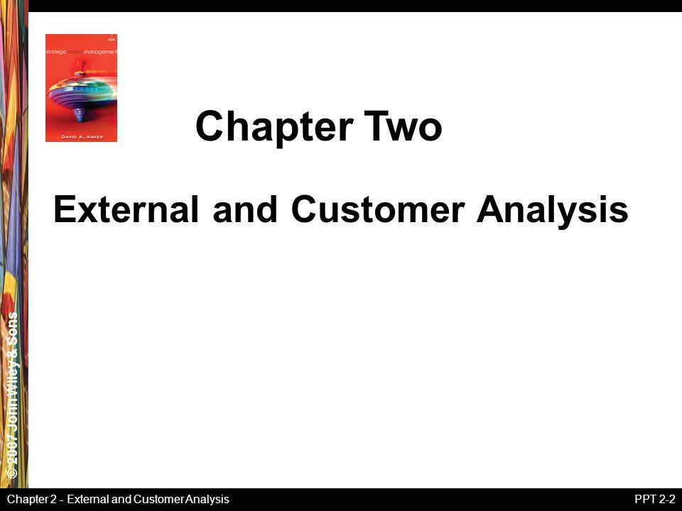 External and Customer Analysis
