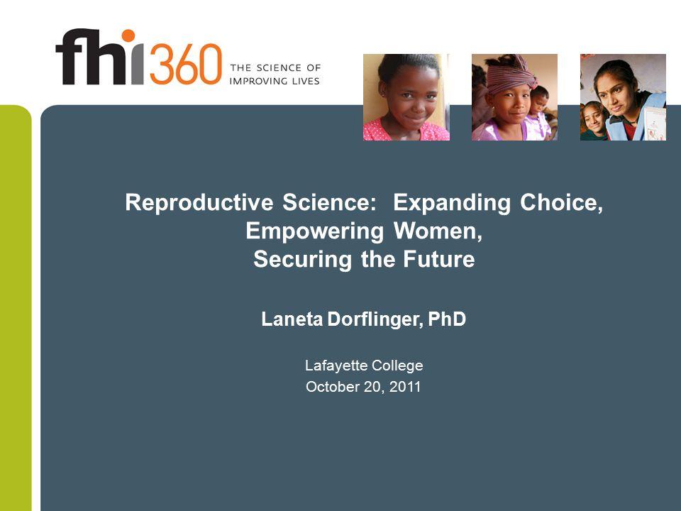 Laneta Dorflinger, PhD Lafayette College October 20, 2011