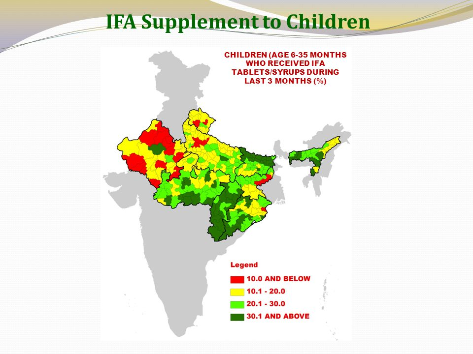 IFA Supplement to Children
