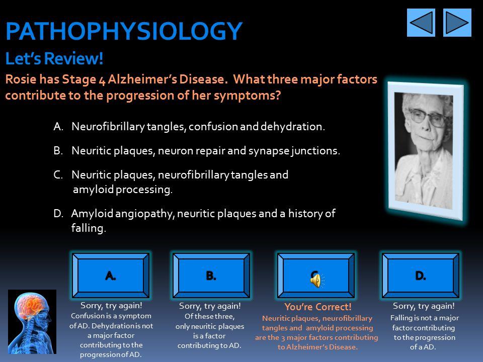 PATHOPHYSIOLOGY Let's Review!
