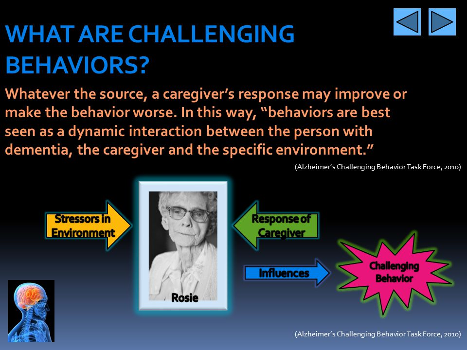 WHAT ARE CHALLENGING BEHAVIORS