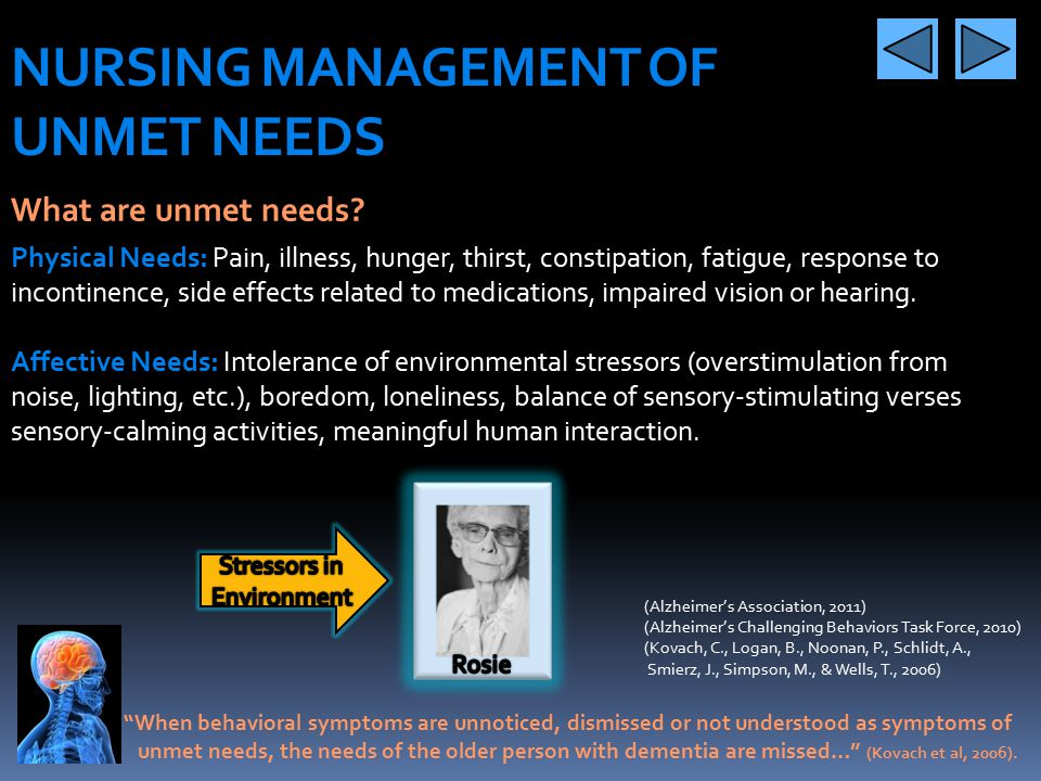 Stressors in Environment