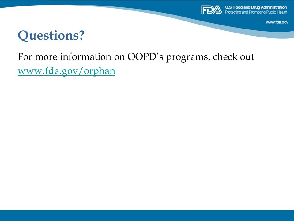Questions For more information on OOPD's programs, check out