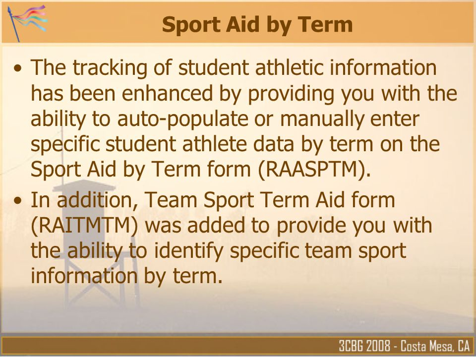 Sport Aid by Term