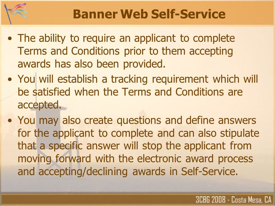 Banner Web Self-Service
