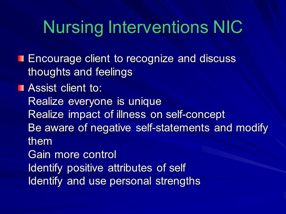 Nursing Interventions NIC