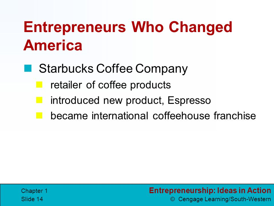 Entrepreneurs Who Changed America