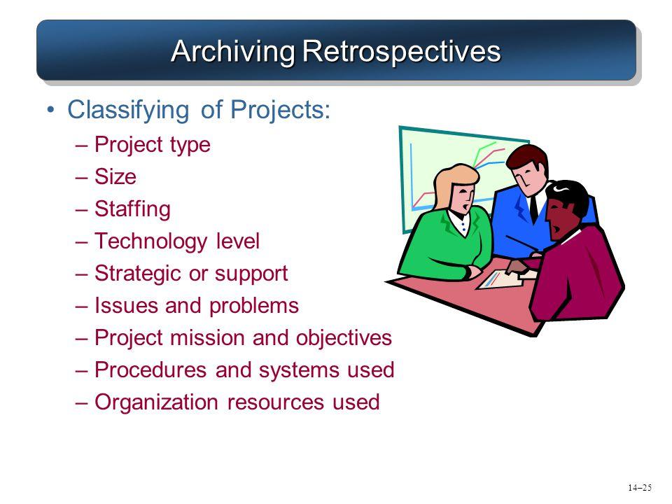Archiving Retrospectives