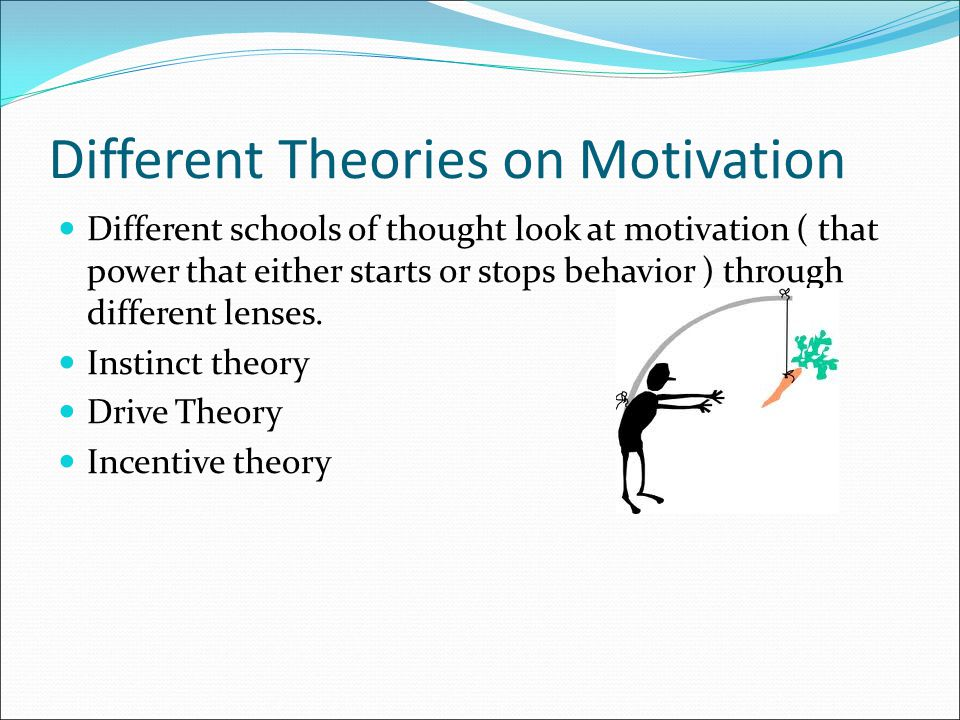 Different Theories on Motivation