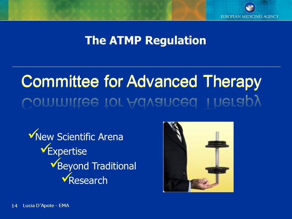 Committee for Advanced Therapy