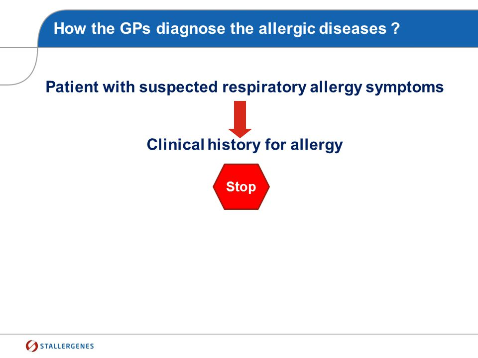 How the GPs diagnose the allergic diseases