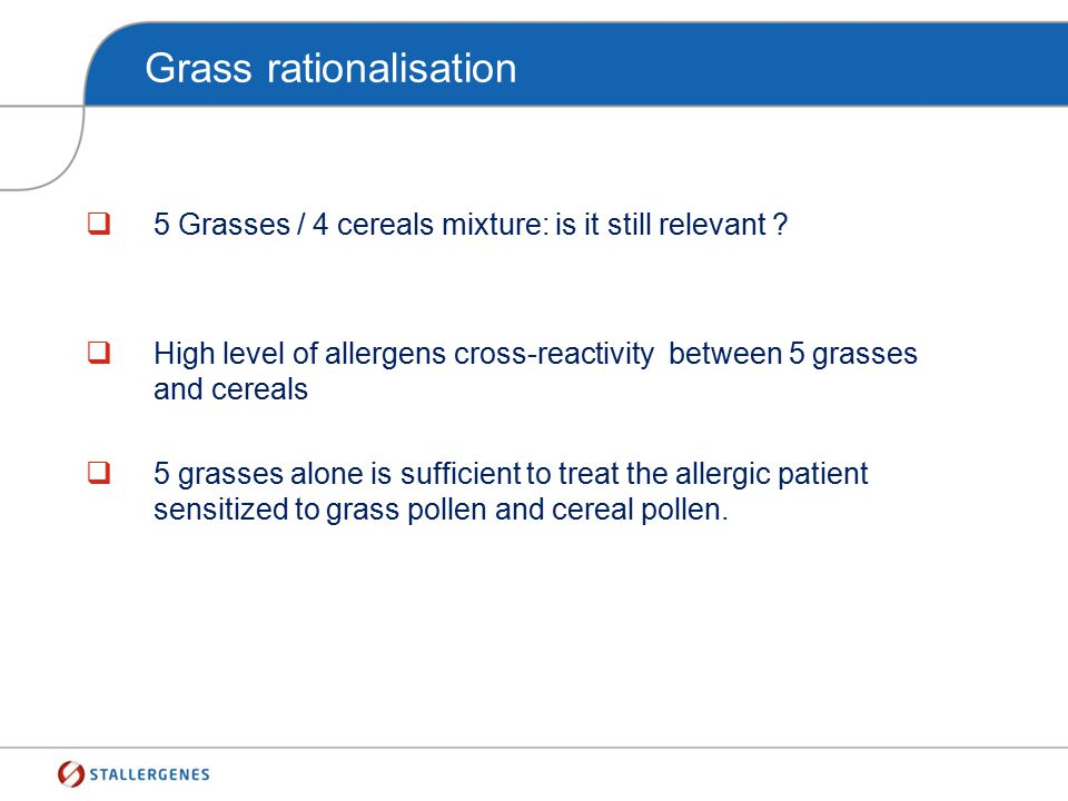 Grass rationalisation