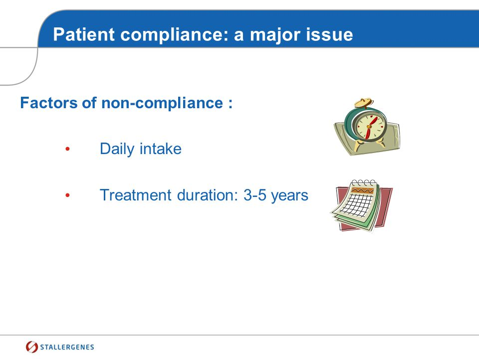 Patient compliance: a major issue