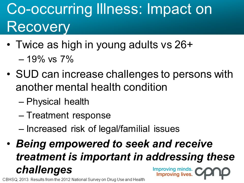 Co-occurring Illness: Impact on Recovery