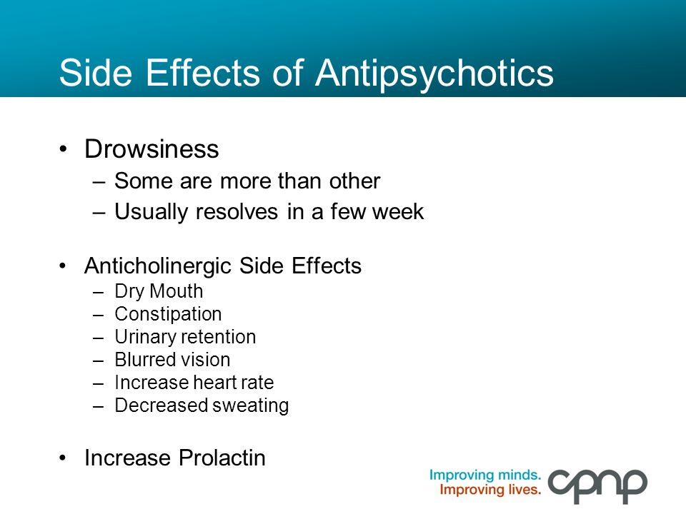 Side Effects of Antipsychotics