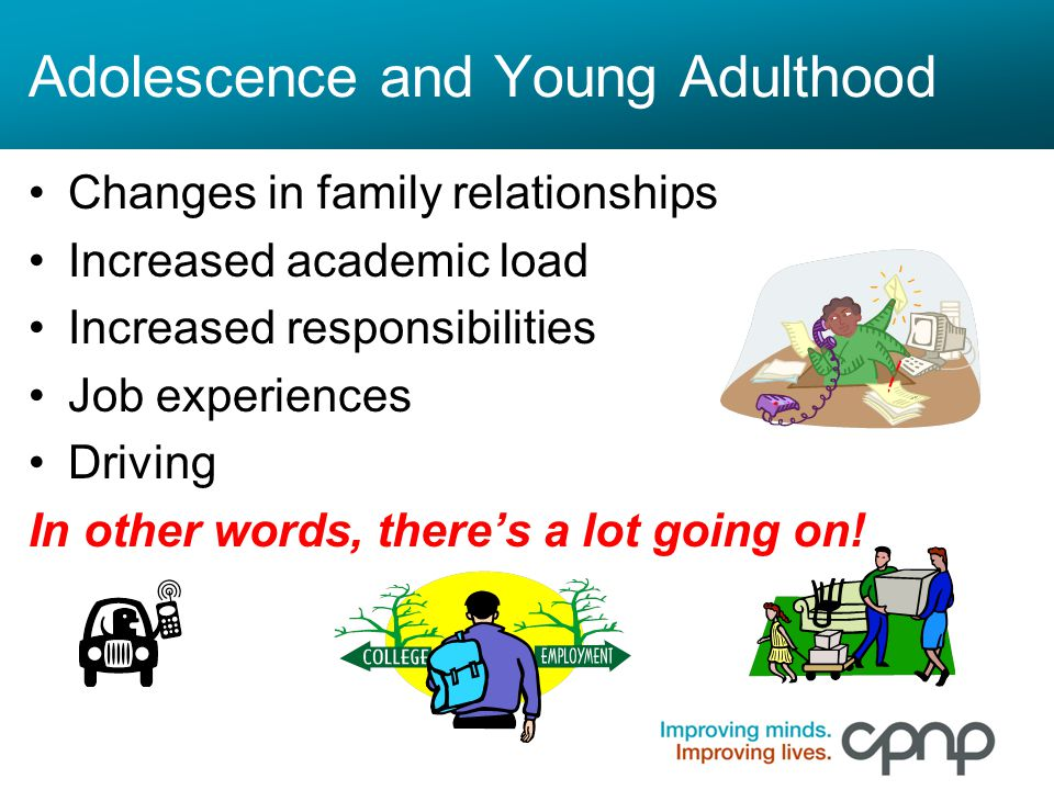 Adolescence and Young Adulthood