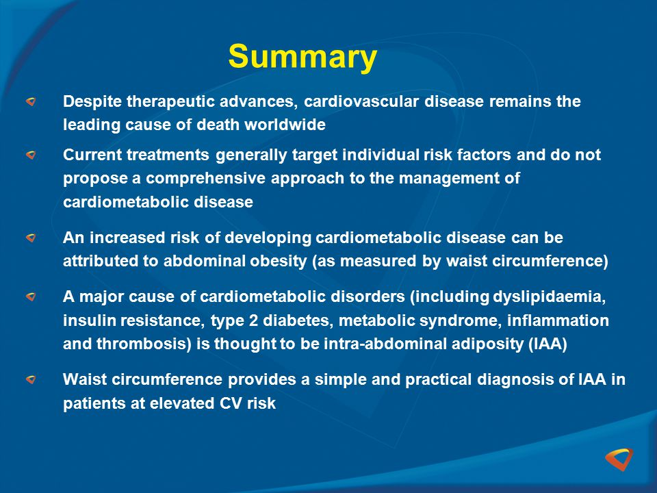 Summary Despite therapeutic advances, cardiovascular disease remains the leading cause of death worldwide.