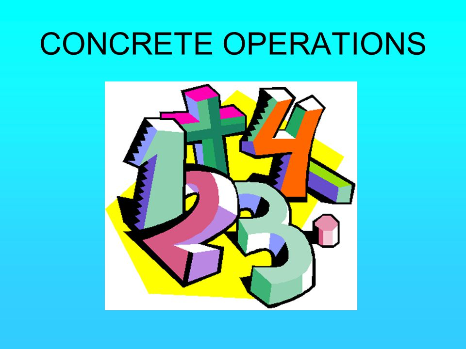 CONCRETE OPERATIONS