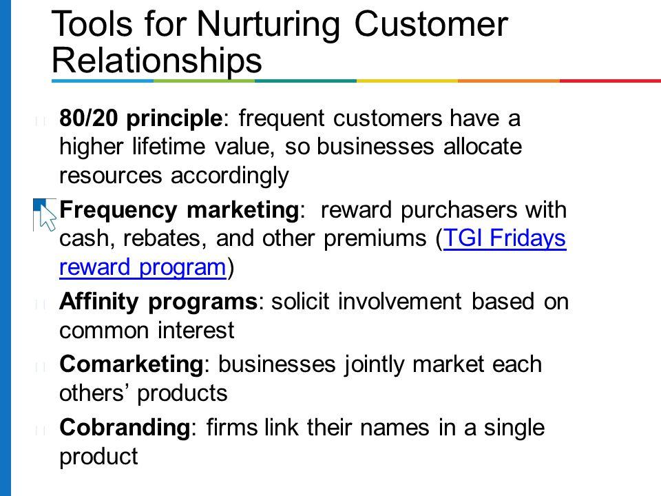 Tools for Nurturing Customer Relationships