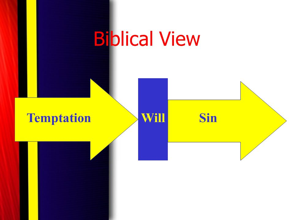 Biblical View Temptation Will Sin