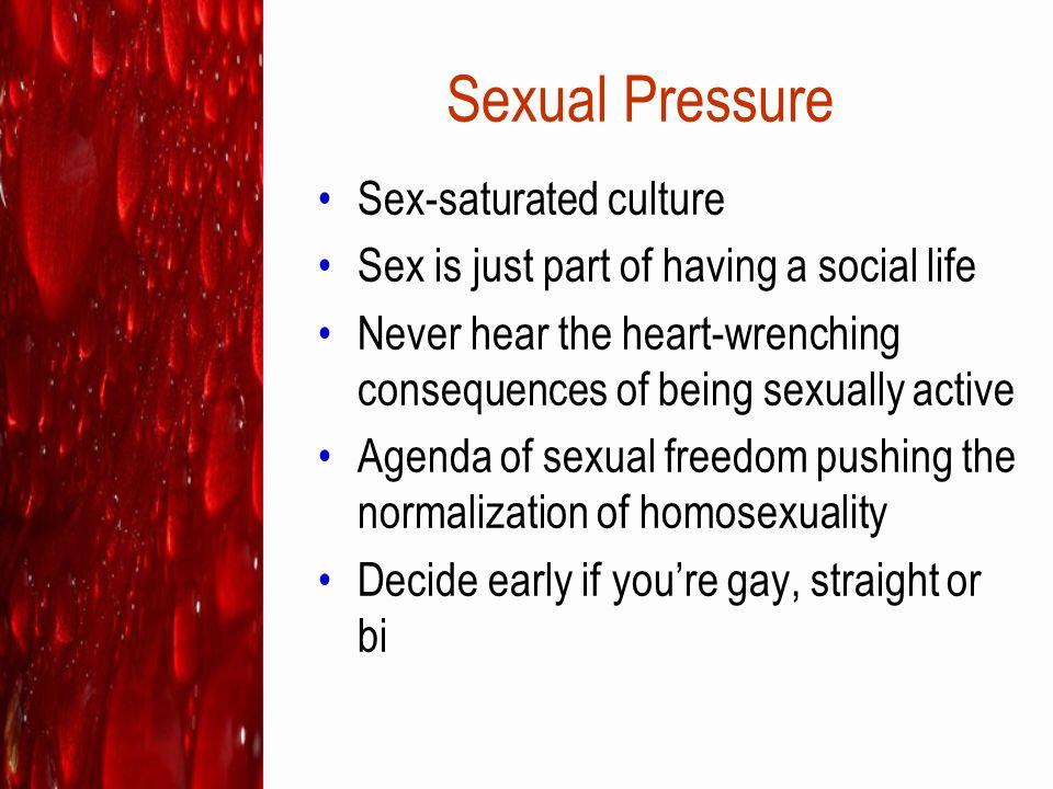 Sexual Pressure Sex-saturated culture