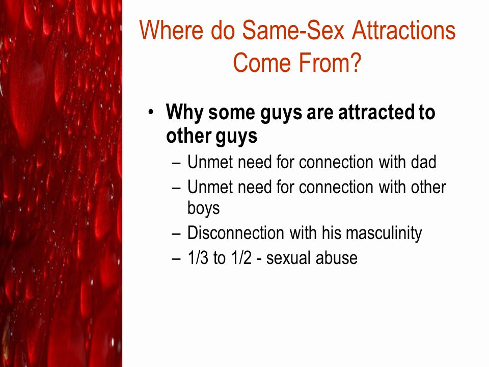 Where do Same-Sex Attractions Come From