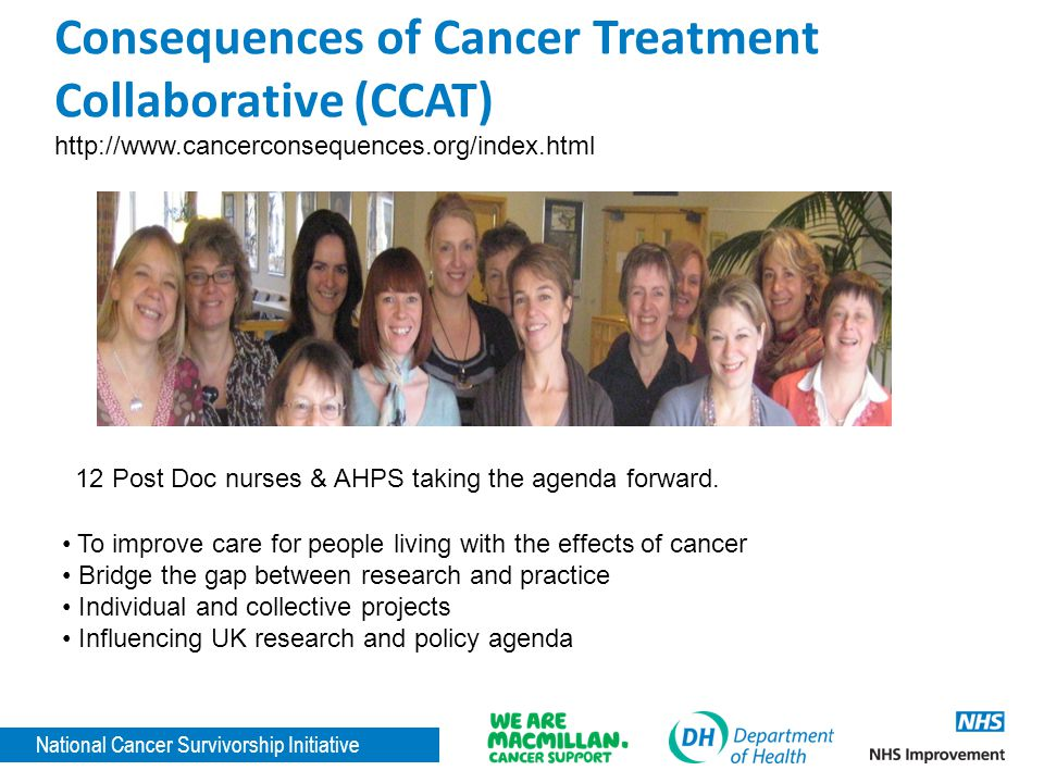 Consequences of Cancer Treatment Collaborative (CCAT)